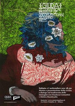 Mostra delle tavole originali del 2°numero della rivista GIUDA dedicato ai Preraffaelliti