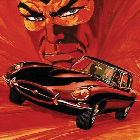 Jaguar e Diabolik festeggiano i 50 anni della E-Type