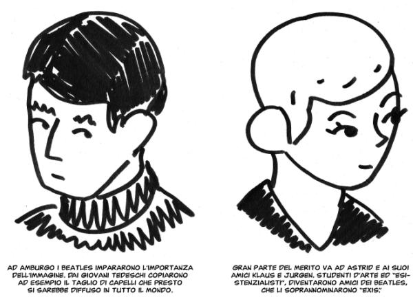 Baby's in black: Pietro Scarnera, Arne Bellstorf e i Beatles
