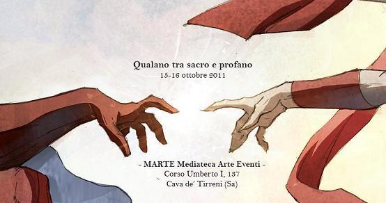 La cittadina di Cava ospita un'esposizione di opere del disegnatore Pasquale Qualano