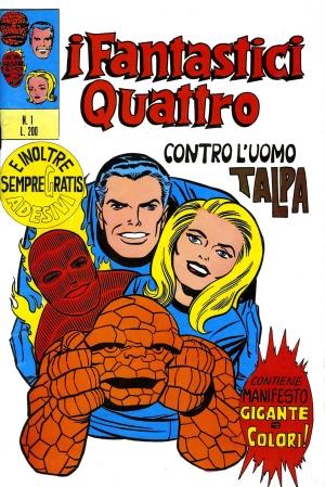 Fantastici Quattro n.1 Controcopertina (Laura Ferracioli)