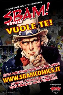 E' nata SBAM! Comics, la nuova rivista digitale per gli appasionati del fumetto