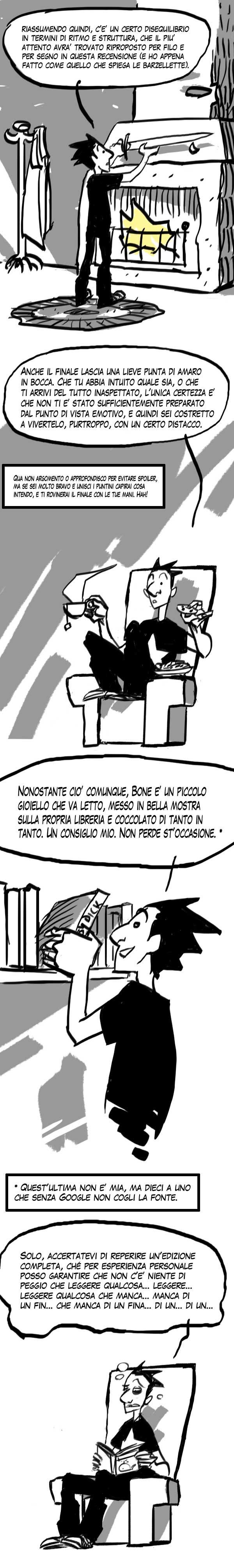 La lunga saga di Bone secondo Federico Rossi Edrighi