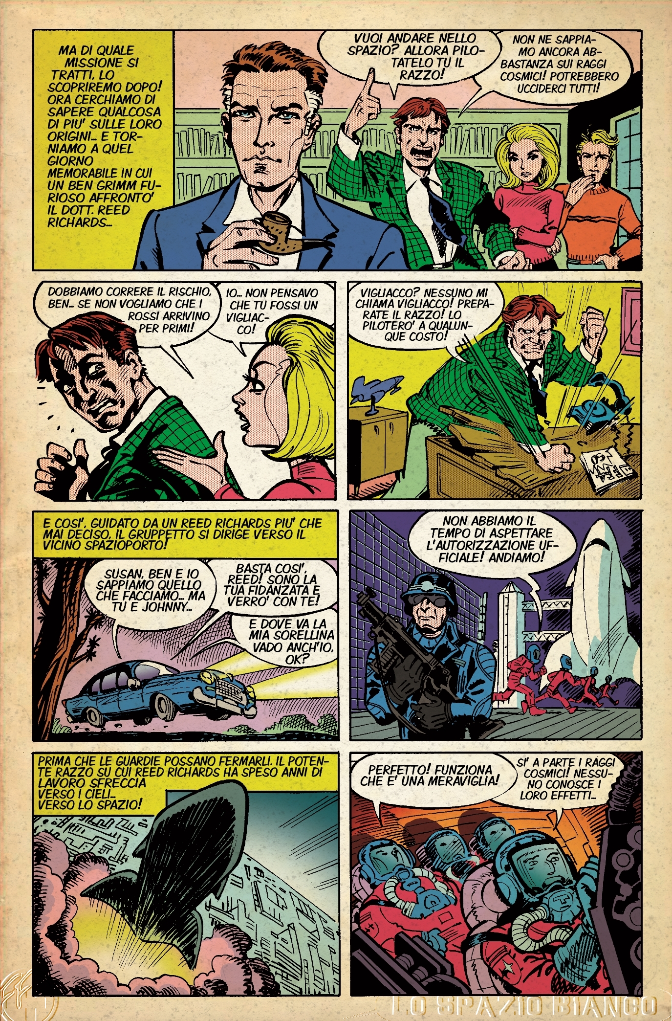 Fantastici Quattro n.1 Pagina 9 (Alessandro Gottardo)