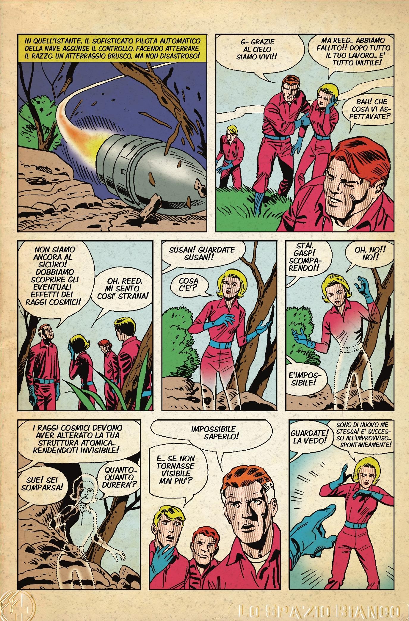Fantastici Quattro n.1 Tavola 11 (Luigi Coppola)