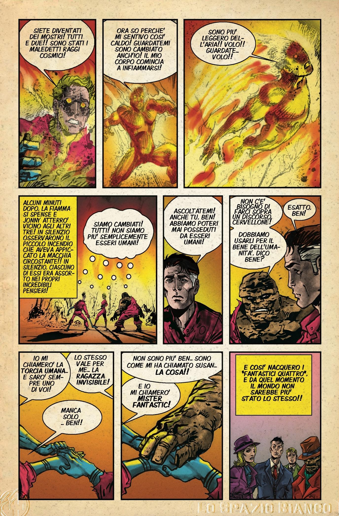 Fantastici Quattro n.1 Tavola 13 (Carmine di Giandomenico)