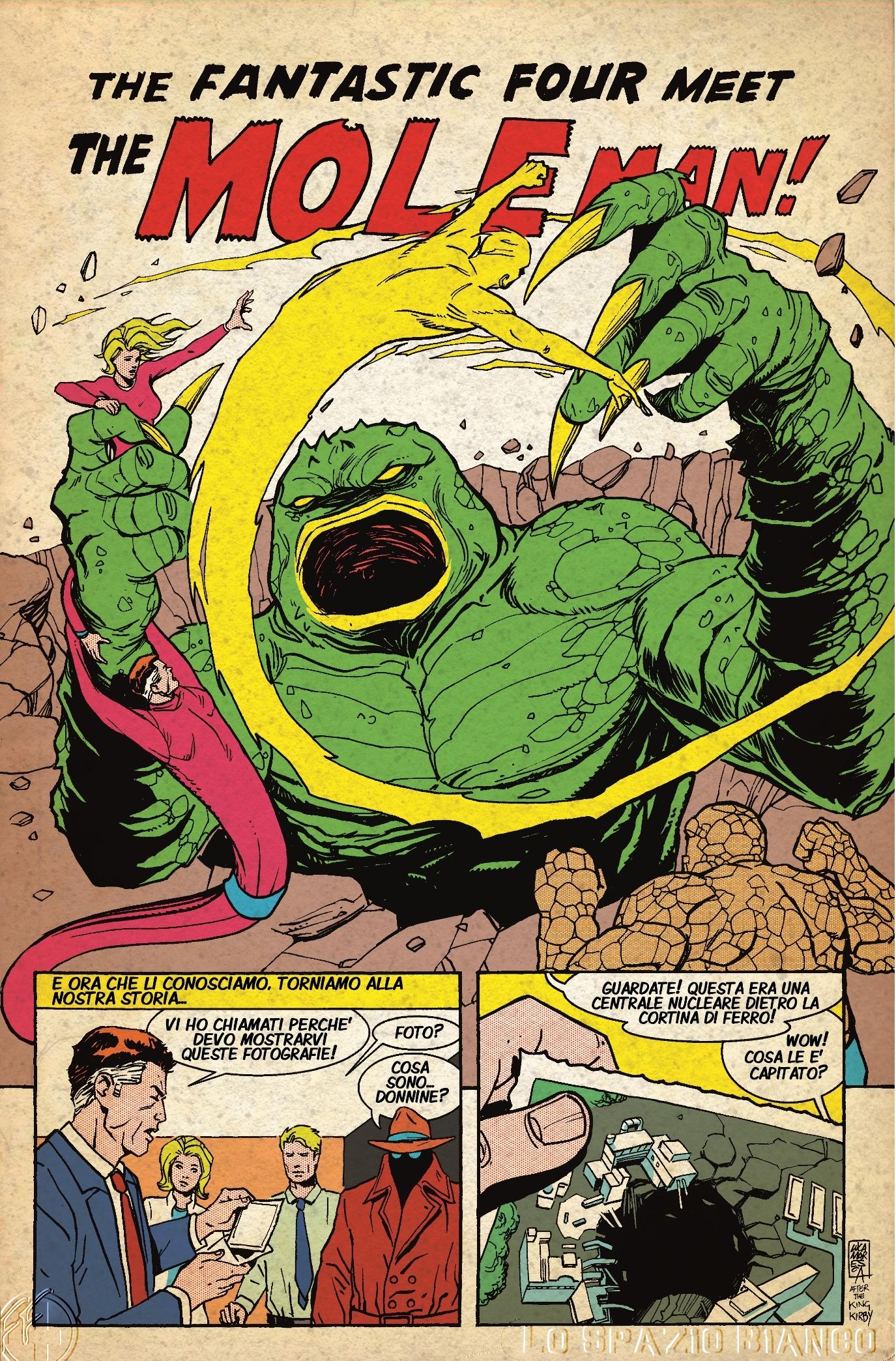 Fantastici Quattro (Mole Man 1) Pagina 1 (Luca Maresca)