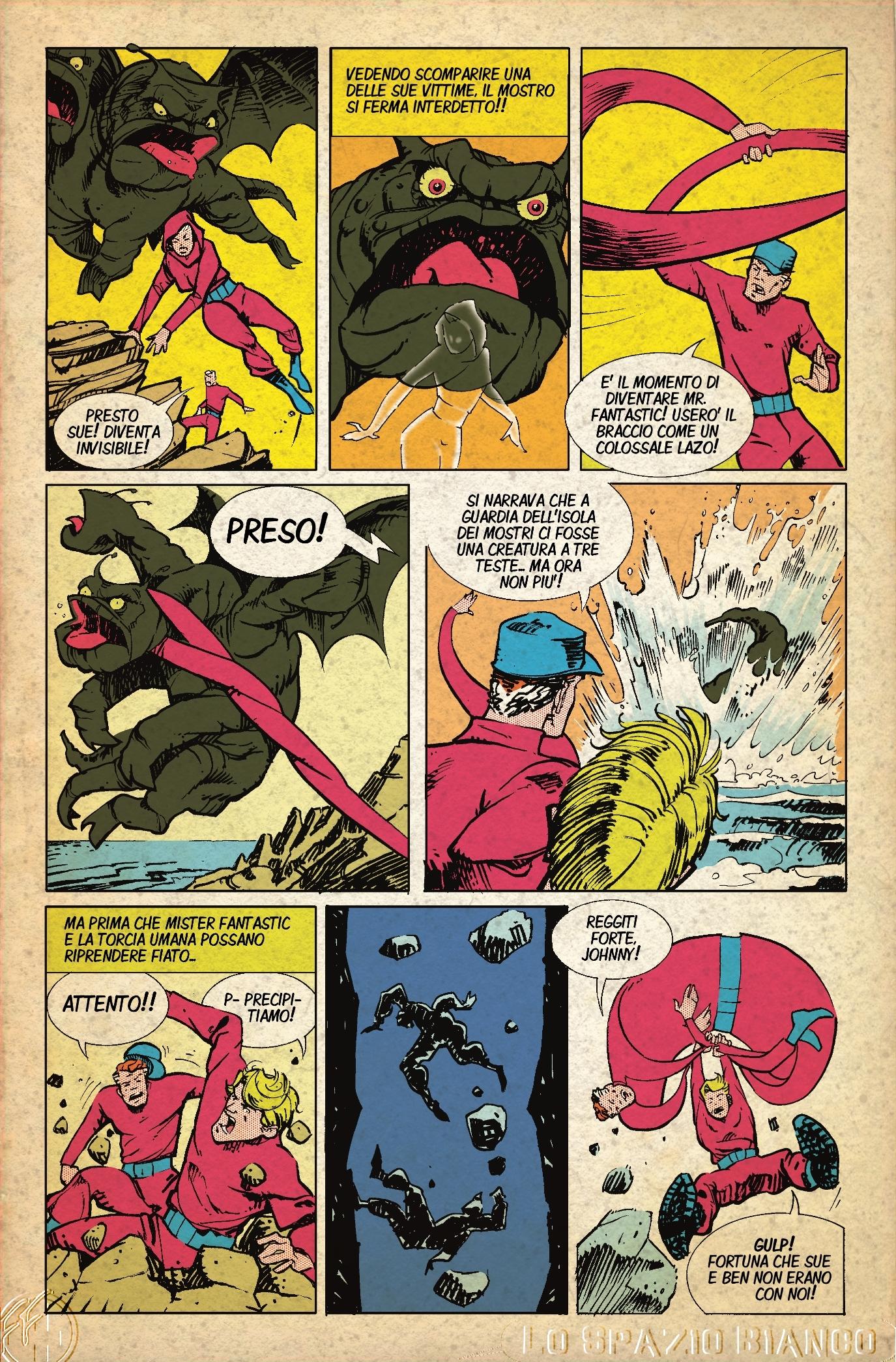 Fantastici Quattro (Mole Man 1) Pagina 5 (Mario Ferracina)