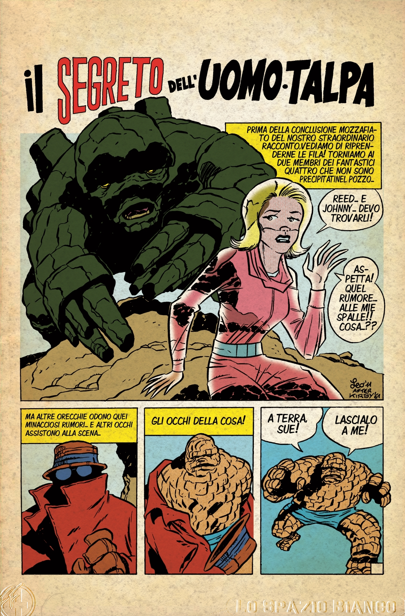Fantastici Quattro (Mole Man 2) Pagina 1 (Leonardo Ortolani)