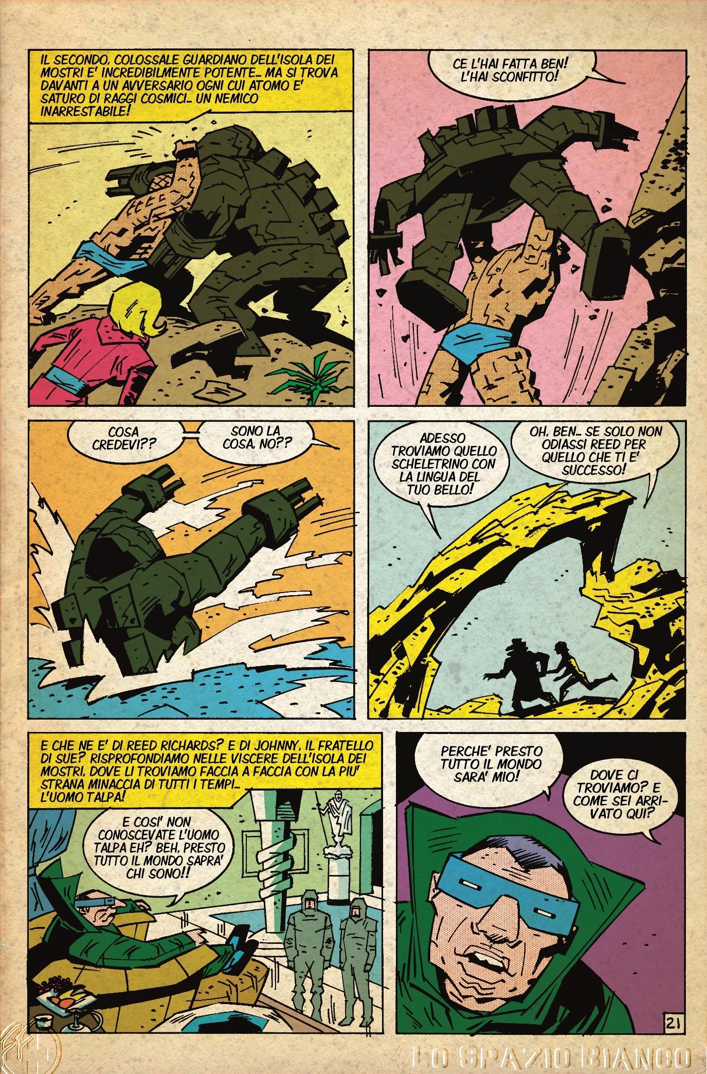 Fantastici Quattro (Mole Man 2) Pagina 2 (Alberto Lavoradori)