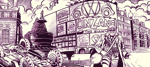 Legion75 #1: Londra Brucia