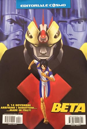 Beta: i robottoni sbarcano nel fumetto Made in Italy