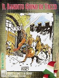 """Una nuova pubblicazione dalla ManFont Comics: le avventure del bandito """"Ghino di Tacco""""_Notizie"""