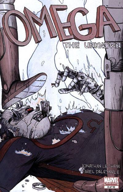 Omega capitolo III: copertina (™ & © 2011 Marvel & Subs.)