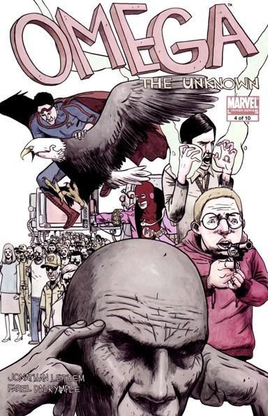 Omega capitolo IV: copertina (™ & © 2011 Marvel & Subs.)