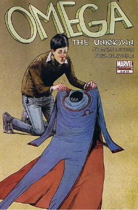 Omega capitolo V: copertina (™ & © 2011 Marvel & Subs.)