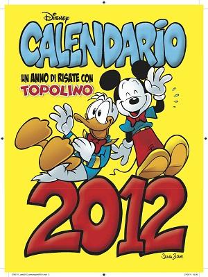 Il calendario illustrato da Silvia Ziche in regalo con Topolino dal 7 dicembre
