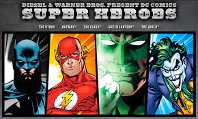 Diesel e Warner Bros lanciano la linea di intimo ispirata ai supereroi della DC Comics