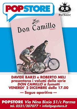 POPstore ospita Davide Barzi e Roberto Meli, autori della serie a fumetti di Don Camillo