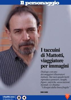 I taccuini di Lorenzo Mattotti, viaggiatore per immagini