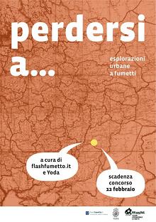 """Concorso """"Perdersi A…"""": esplorazioni Urbane a Fumetti"""