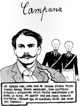 """Campana: la biografia a fumetti di un poeta """"oscuro"""""""