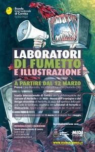 Laboratori di fumetto e illustrazione a Norbello