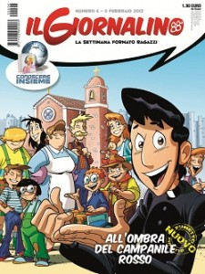 Nuovo fumetto umoristico di Beppe Ramello e Andrea Cuneo su Il Giornalino