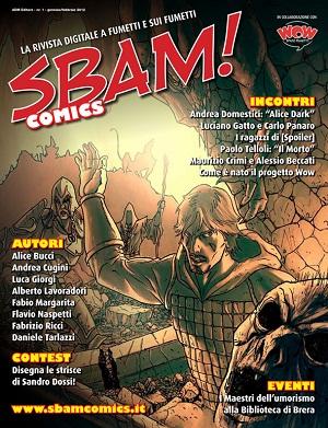 E' disponibile il nuovo numero di SBAM! Comics, rivista digitale a fumetti gratuita