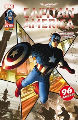 Capitan America #21 Cover
