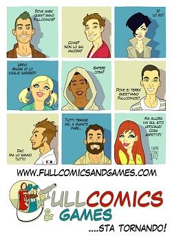 """Fullcomics & Games approda a Milano (18/20 maggio 2012) e diventa """"Pro Edition"""""""
