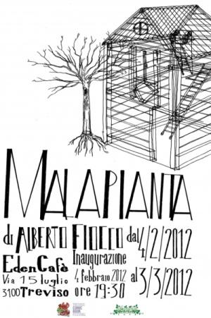 La Malapianta, mostra di Alberto Fiocco a Treviso