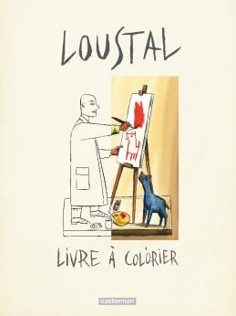 Livre a colorier (Loustal)