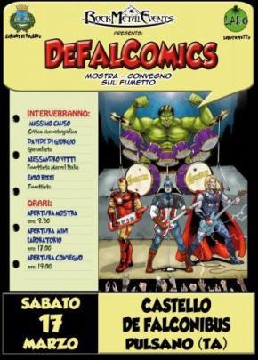 Mostra-convegno DEFALCOMICS a Pulsano (TA)