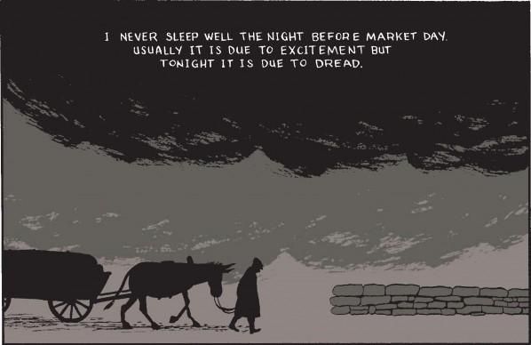 Market Day - un difficile giorno al mercato per James Sturm