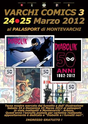Terza edizione per Varchi Comics, mostra-mercato dedicata al fumetto