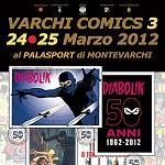 VARCHI COMICS locandina mini