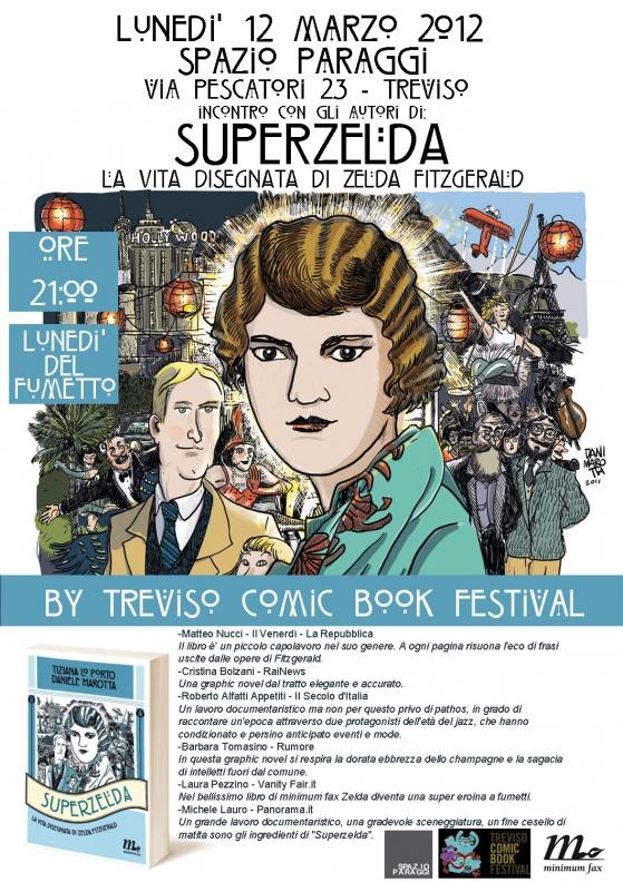 Superzelda, con gli autori Tiziana Lo Porto e Daniele Marotta a Treviso