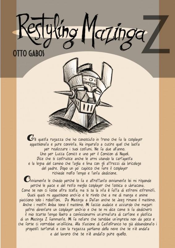 Otto Gabos: restyling Mazinga Z