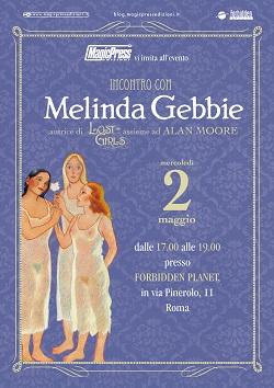 Melinda Gebbie, la femminista che ha rivoluzionato l'eros a fumetti, incontra il pubblico a Roma