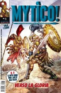 """Nasce il nuovo fumetto """"Mytico!"""", con il Corriere della Sera"""