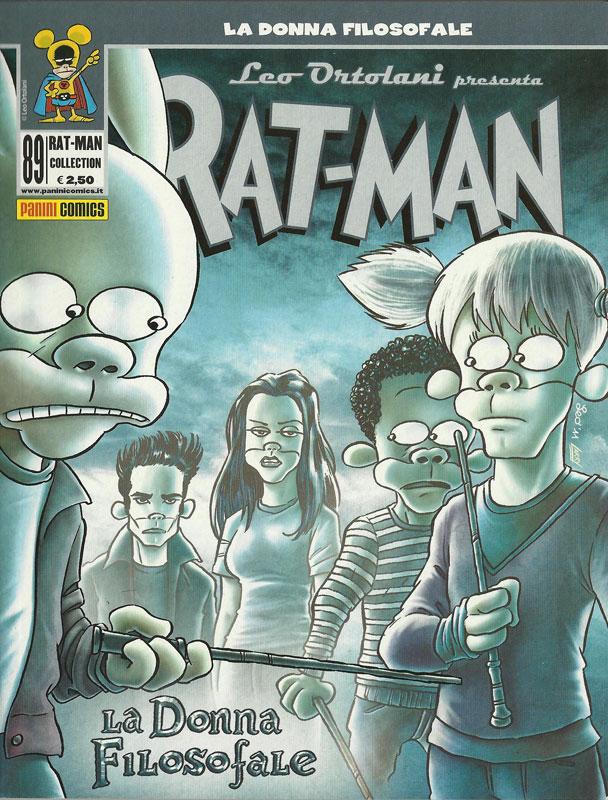 Rat-Man #89 - La donna filosofale (Ortolani)