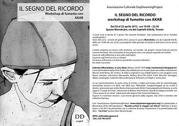 Mostra e corso di fumetto con Akab a Trieste