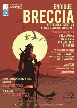 Enrique Breccia alla Scuola Italiana di Comix