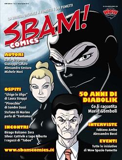 Disponibile il nuovo numero di SBAM! Comics, rivista digitale a fumetti e sui fumetti