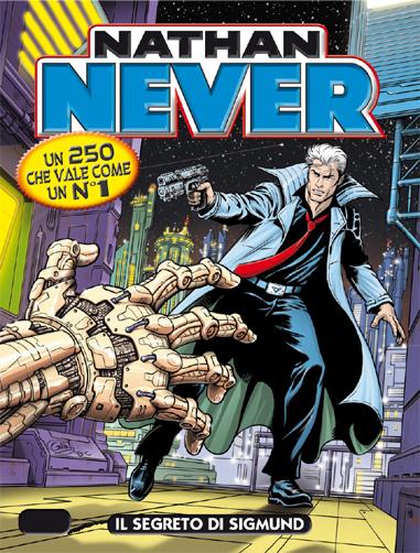Nathan Never #250 - Il segreto di Sigmund (Perniola, Giardo)