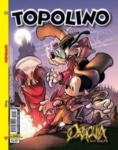 TOPOLINO: omaggio a fumetti per Dracula di Bram Stoker.