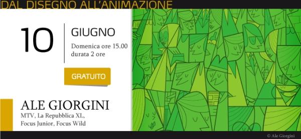 Presso Dalì Comics School due nuovi seminari con Davide Corsi e Ale Giorgini