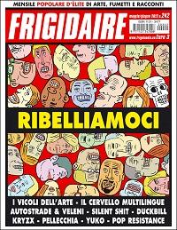In edicola Frigidaire n.242 e Il Nuovo Male n.7 con il falso de Il Fattone Quotidiano_Notizie