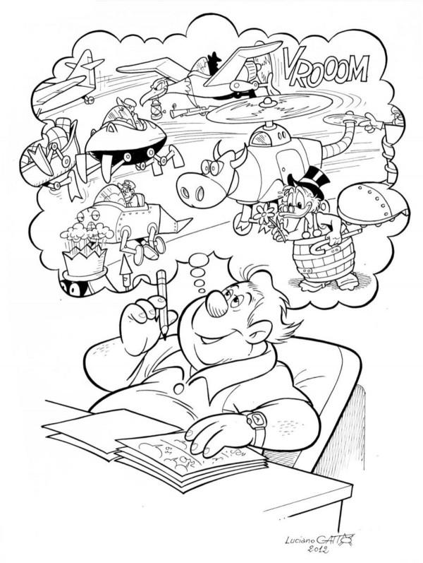 Speciale Rodolfo Cimino: Omaggi degli autori